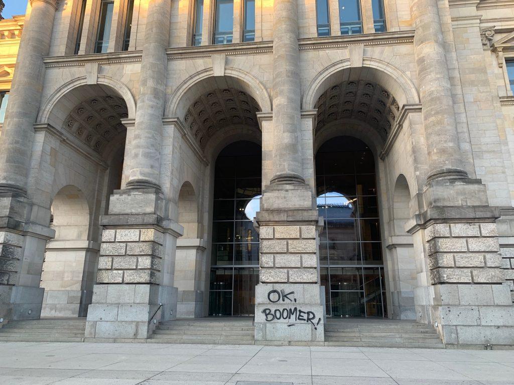 Reichstag OKBoomer Tag