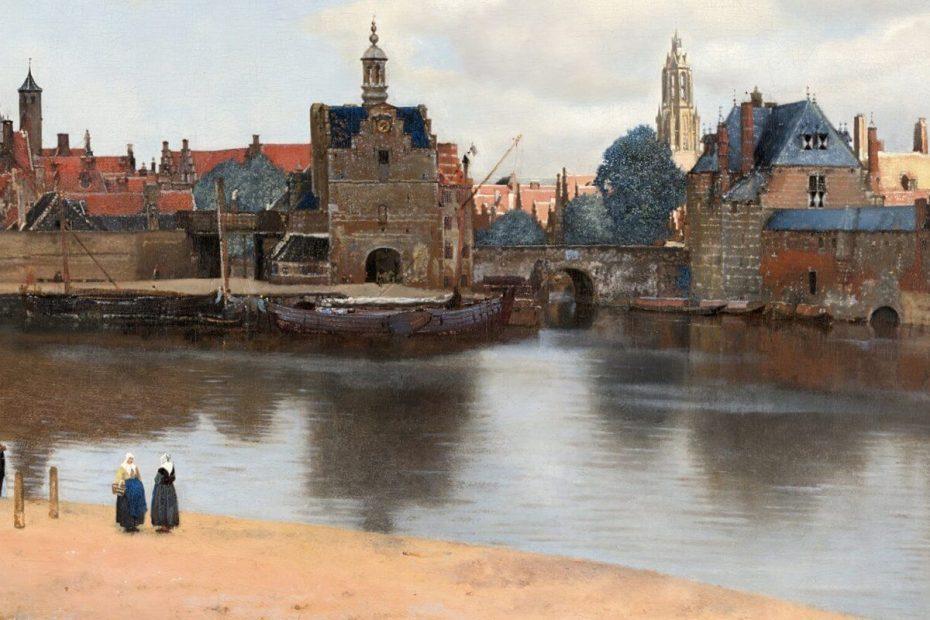Jan Vermeer: Ansicht von Delft