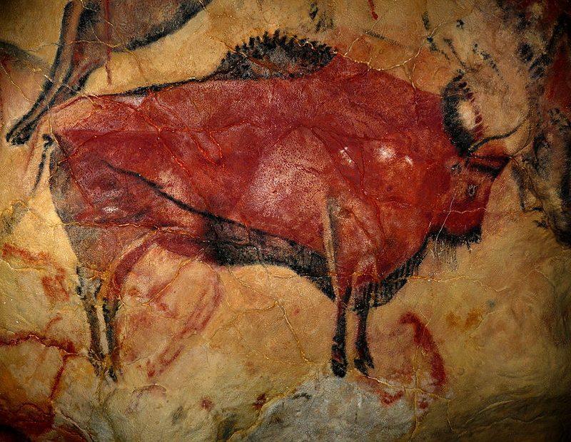Bison aus der Höhle von Altamira