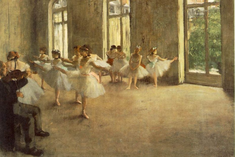 Edgar Degas: Die Probe