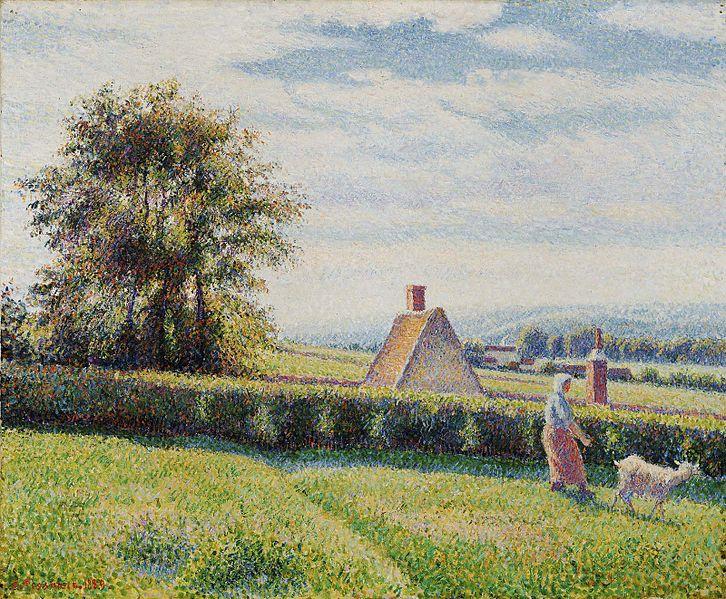 Camille Pissarro: Frühlingsweide