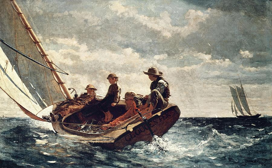 Winslow Homer: Breezing Up